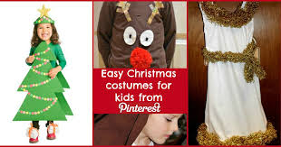 Easy Christmas costumes for kids from Pinterest  Liverpool Echo
