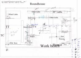 Machine Shop Floor Plan Railroad Line Forums New Machine Shop Building For The Cb N Wv
