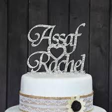 wedding cake tops personalized wedding cake topper custom cake topper wedding