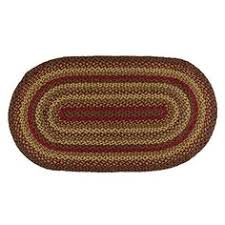 ihf home decor rectangle area accent braided jute rug 5 u0027 x 8