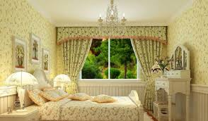 floral elegant curtains that can be decoration ideas inside