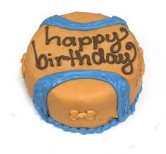 organic chuck it ball birthday cake for dogs birthday cake for