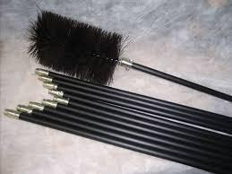 inch chimney brush set