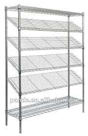 Metal Wire Shelving by Stainless Steel Shelving For Kitchen Aralsa Com