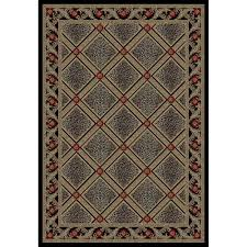 garland rug town square black 7 ft 6 in x 9 ft 6 in area rug
