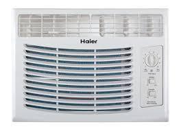 haier 5100 btu 115v window mounted air conditioner ac w manual