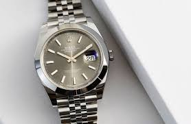 rolex steel oyster bracelet images Rolex oyster perpetual datejust 41 in steel hands on review jpg