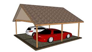 double carport plans youtube
