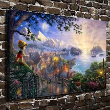 thomas kinkade halloween compare prices on pinocchio pictures online shopping buy low