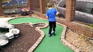 putt putt golf challenge at the family fun center youtube