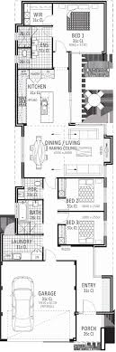 house plans for wide lots narrow lot house plans beautiful modern foot wide houses best
