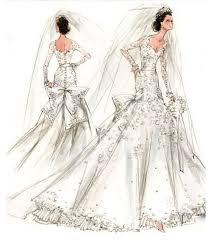 photo wedding gown sketches chii poems u0026 journal