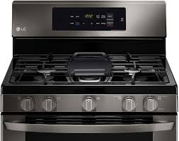 Simmer Plate For Gas Cooktop Lg 5 4 Cu Ft Freestanding Gas Range Black Lrg3061bd Best Buy
