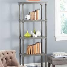 Long Low Bookcase Wood Bookcases U0026 Bookshelves