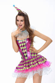 Candy Costumes Halloween 2015 Arrival Strapless Fancy Plaid Printed Candy Dress