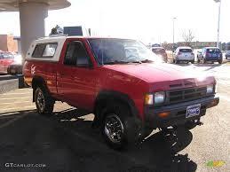 nissan hardbody 4x4 1992 aztec red nissan hardbody truck regular cab 4x4 24588478