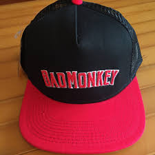 Bad Monkey Bad Monkey Text Logo Twill Trucker Hat U2013 Bad Monkey Oc