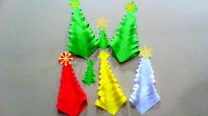 diy easy paper christmas trees kids crafts for christmas quick