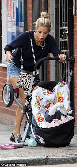 Baby On Phone Meme - peaches geldof tips baby astala out of buggy after hitting a