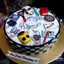 live your dreams designer fondant cake online cake delivery