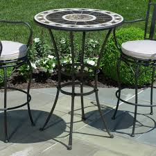 B Q Bistro Chairs Glamorous Mosaicble And Chairs Tesco Outdoor Bistro Set Furniture