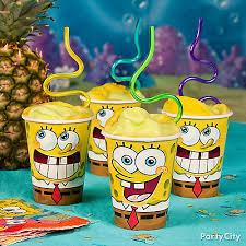 spongebob party ideas spongebob smoothie idea food drink ideas spongebob party