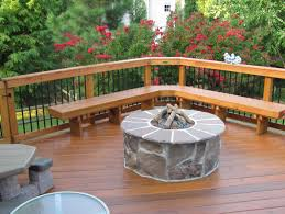 Backyard Fire Pit Lowes by Decor Lowes Deck Design With Stunning Wood Fence For Outdoor