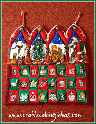 christmas advent calendar quilted christmas advent calendar craft ideas
