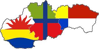 Slovak Flag Flag Map Of Slovakia 3 Regions By Hosmich On Deviantart