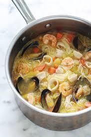 Bouillabaisse Facile Recette De Bouillabaisse Facile Marmiton Soupe Au Poulet Fruits De Mer Vermicelles Sans Gluten Cuisine