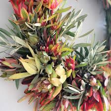 leucadendron wreath fall wreaths door wreaths for fall autumn