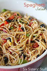 the 25 best cold spaghetti salad ideas on pinterest california