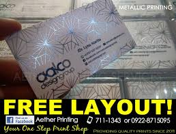 high quality offset printing calling cards and business cards manila