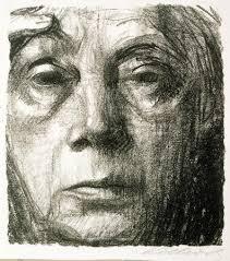 käthe kollwitz self portrait selbstbildnis 1934 painting