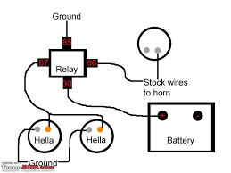 bosch relay wiring diagram for horn relay wiring diagram 5 pin