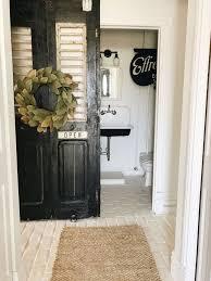 a door change in the half bath liz marie blog