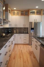 Dark And Light Kitchen Cabinets by Most Light Cabinet With Dark Interior With 21 Images Home Devotee