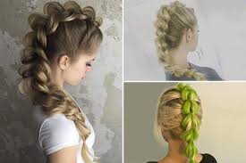 show pix of braid the dragon tail braid is set to be this season s hottest hair trend