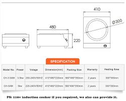 stainless steel induction electric stove electric induction stove