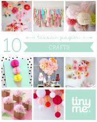 10 tissue paper crafts tinyme blog