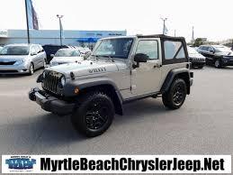 jeep wrangler beach new 2017 jeep wrangler jk sport sport utility in myrtle beach h3578