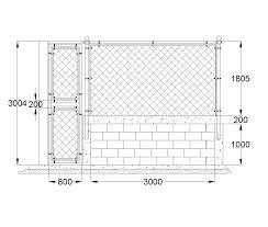 Reception Desk Cad Block 2d Cad Mesh Fence And Gate Detail Cadblocksfree Cad Blocks Free