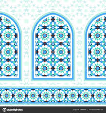 morroco style ornamental mosaic background in moroccan style u2014 stock vector