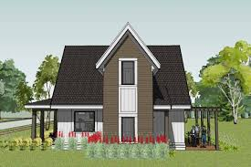 small cabin plan r scandia modern cottage house admirable elegant