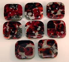 Red Glass Cabinet Knobs June 2017 Fused Glass Cabinet Knobs By Stained Glass Source Inc