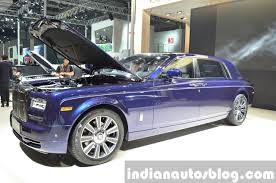 purple rolls royce 2015 rolls royce phantom limelight collection side three quarter