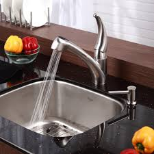 what to look for in a kitchen faucet stainless steel kitchen sink combination kraususa com