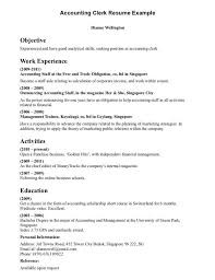 Sample Accounting Student Resume by Resume For Accounting Internship Enwurf Csat Co
