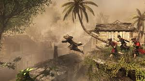 Flag With Tree And Moon Assassin U0027s Creed 4 Black Flag Ab Heute Kostenlos über Uplay