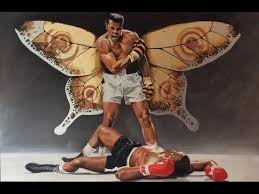 muhammad ali float like a butterfly sting like a bee poem